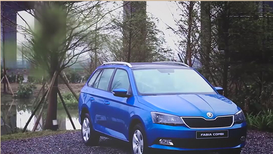 Skoda Fabia Combi Scoutline - Full thrust of yelling, Obedient accelerated response